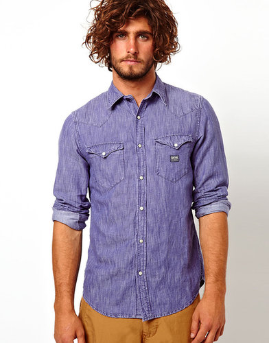 Denim & Supply By Ralph Lauren - Chemise en jean délavé