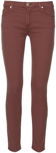 Seven for all mankind Skinny Jeans Rost-Rot