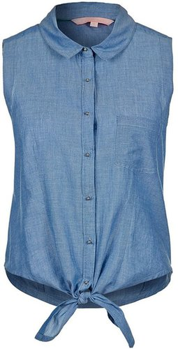 Silvian Heach SEBALDIN Hemdbluse blau