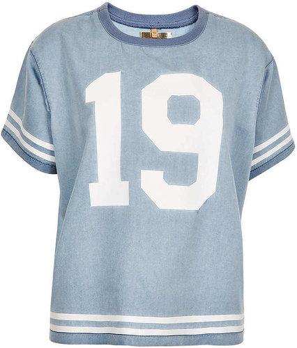 MOTO Varsity Stripe T-shirt