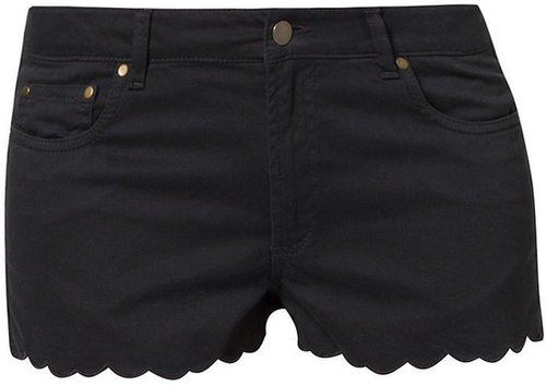 Ganni Jeans Shorts moonless night