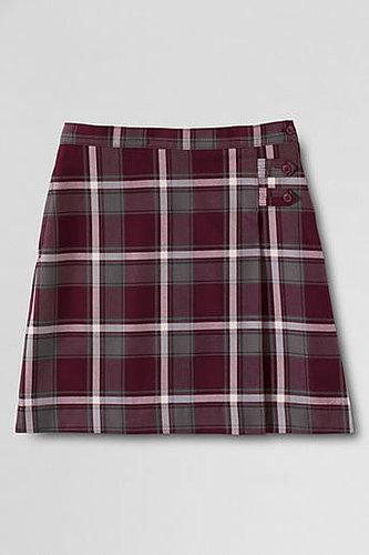 Women's Plaid A-line Skirt (Below The Knee)