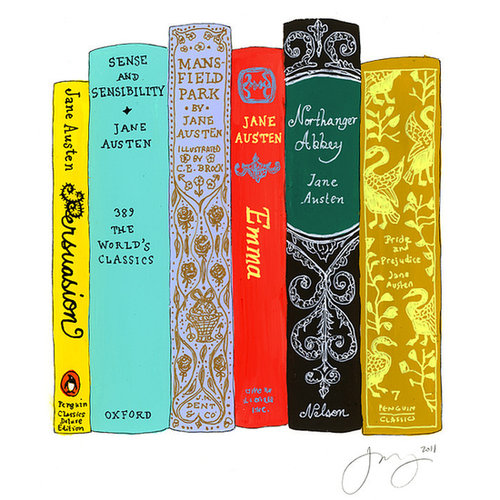 Favorite Jane Austen Books