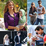 Sofia Vergara, Matt Bomer, Zach Braff, and More Stars on Set