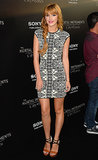 Bella Thorne in Alexander McQueen and Christian Louboutin