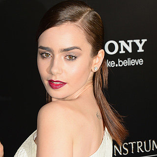Beautiful Celebrity Hair & Makeup Inspiration: Lily Collins