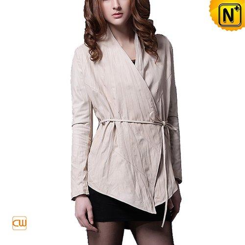 Designer Women Leather Jacket CW669012 - cwmalls.com