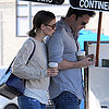 Jennifer Garner and Ben Affleck Leaving Lunch in LA