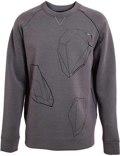 Lanvin Geometric Diamond Sweatshirt