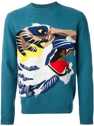Kenzo wool 'Great Tiger Pullover' sweater