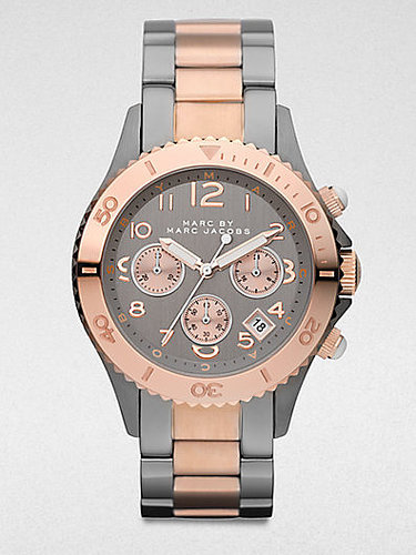 Marc by Marc Jacobs Two-Tone Stainless Steel Chronograph Watch