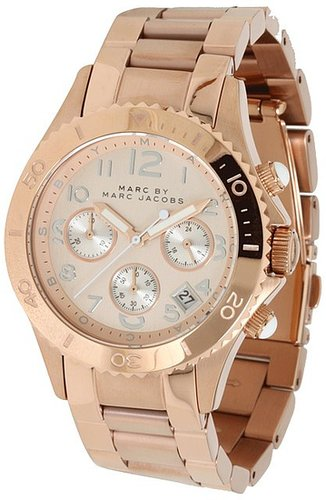 Marc by Marc Jacobs - MBM3156 - Rock Chronograph (Rose Gold) - Jewelry