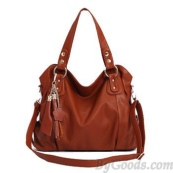Fashion Elegant Tassel Handbag & Shoulder Bag