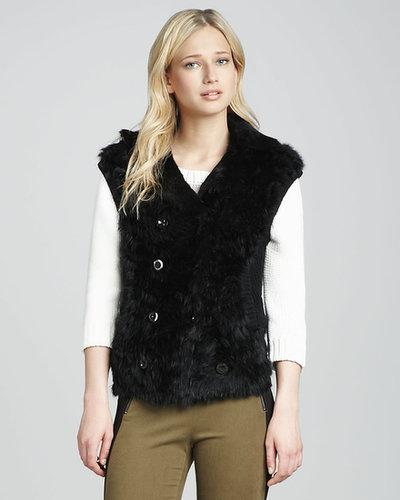 MARC by Marc Jacobs Dukie Fur Vest