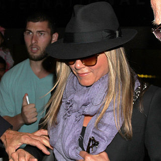 Jennifer Aniston Arrives in LA