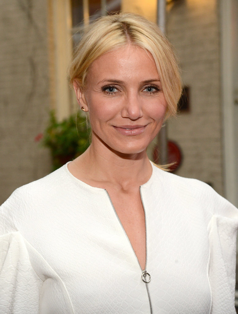 It's hard to imagine Cameron Diaz as anything but a California blonde, since she wears the golden hue so well.