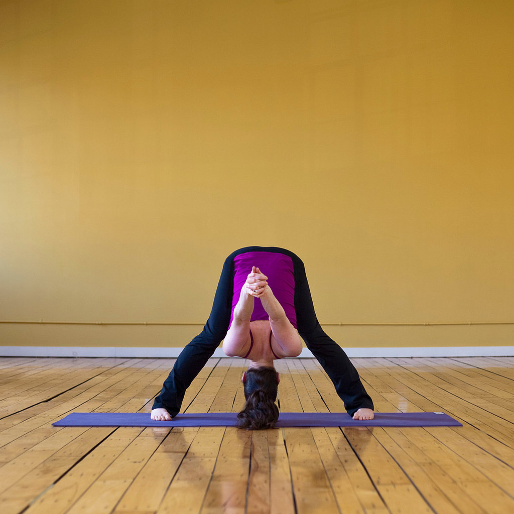 Wide-Legged Forward Bend C
