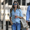 Olivia Palermo Wearing Denim on Denim
