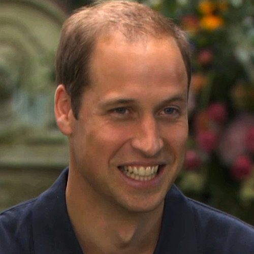 Prince William's First Interview About Prince George