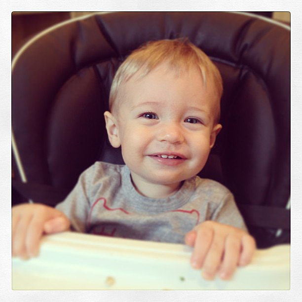 Kristin Cavallari posted a photo of her son Camden's toothy smile. Source: Instagram user kristincavallari