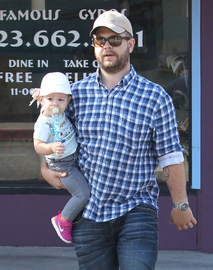 Jack Osbourne spent Friday running errands in LA with his daughter, Pearl.