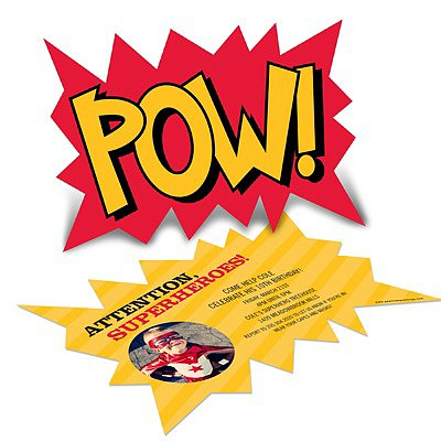 Pow Invitations