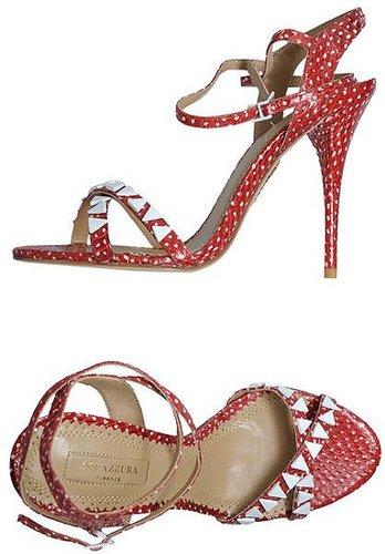 AQUAZZURA High-heeled sandals