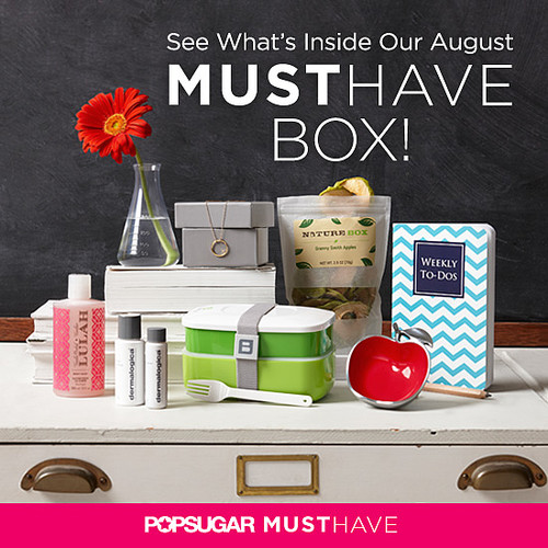 POPSUGAR Must Have Box For August 2013