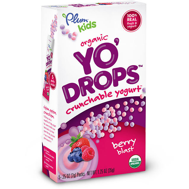 Plum Kids Yo' Drops Crunchable Yogurt