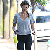 Gisele Bundchen Going to the Gym