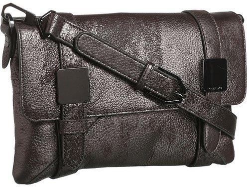Rachel Zoe - Morrison Clutch (Brushed Pewter Metallic) - Bags and Luggage
