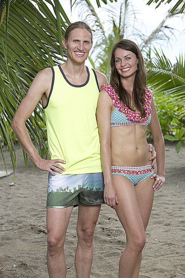 Tyson Apostol and Rachel Foulger  Ages: 34 and 33 Relationship: Dating Hometown: Provo, UT Occupations: Former pro cyclist/shop manager and cocktail waitress/graphic designer Alumni cred: Tyson competed on Survivor: Tocantins and Heroes vs. Villains