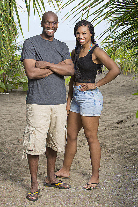 Gervase and Marissa Peterson  Ages: 43 and 21 Relationship: Uncle and niece Hometowns: Philadelphia, PA, and Chapel Hill, NC Occupations: Cigar lounge owner and student Alumni cred: Gervase competed on the first season, Survivor: Borneo