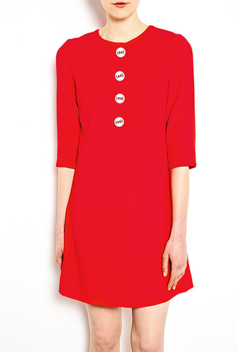 Goat Exclusive Sheriff Button Front Tunic Shift Dress