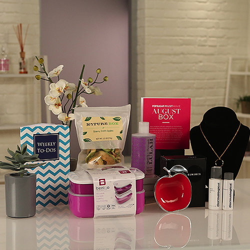 POPSUGAR Must Have Box for August Video