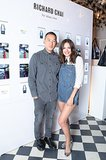 Atlanta de Cadenet helped Richard Chai unveil his eBay tote at New York's Gramercy Park Hotel.