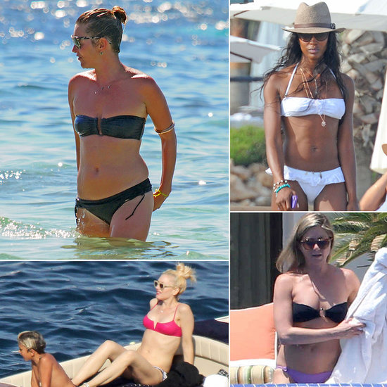 Stars Break Out Their Bikinis For Summer