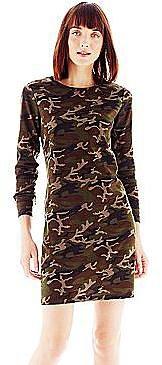 Joe FreshTM Camouflage Dress