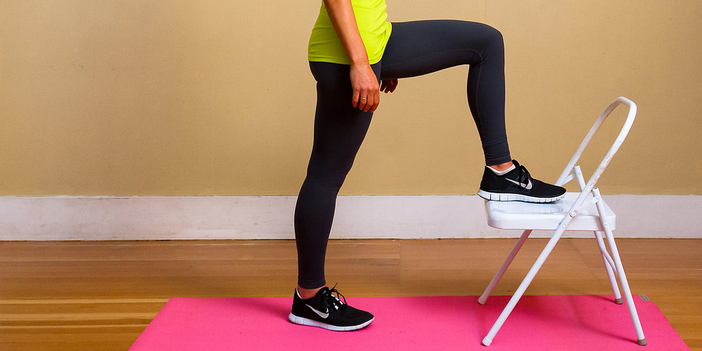 Why Are You Sitting? Do This Calorie-Crushing Chair Workout