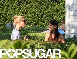 Gwyneth Paltrow grabbed coffee in the Hamptons.