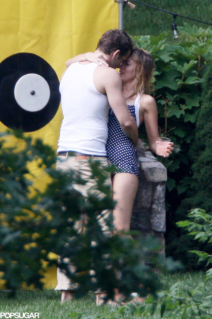 Blake Lively and Ryan Reynolds embraced while celebrating the Fourth of July in 2012 with family in New York.