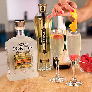 St-Germain and Pisco Champagne Cocktail