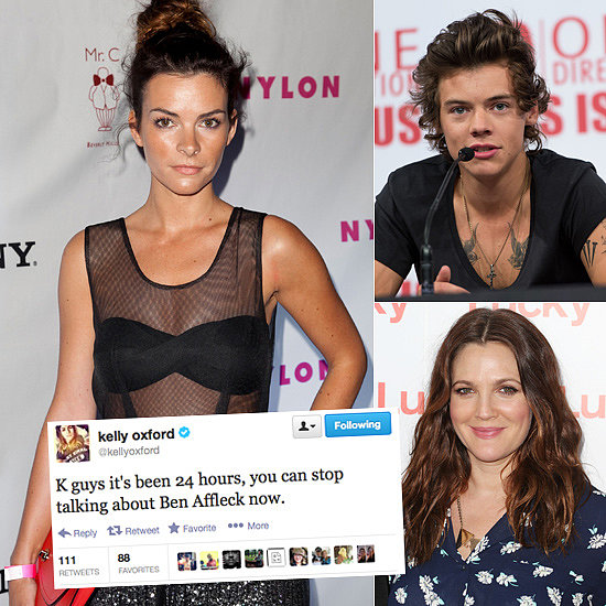Celebrity Tweets of the Week: Kelly Oxford, Harry Styles, Drew Barrymore & More!