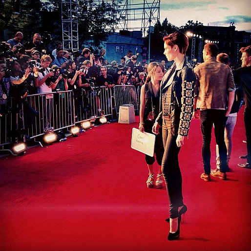 Coco Rocha gave us the head-to-toe view on the carpet.  Source: Instagram user cocorocha
