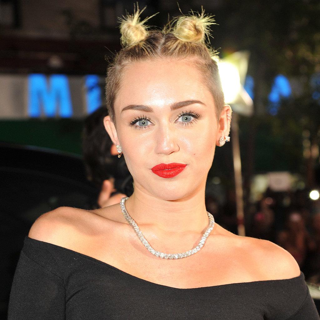 Miley Cyrus: Miley Cyrus Hair And Makeup At VMAs 2013