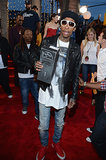 Wiz Khalifa attended the MTV VMAs.