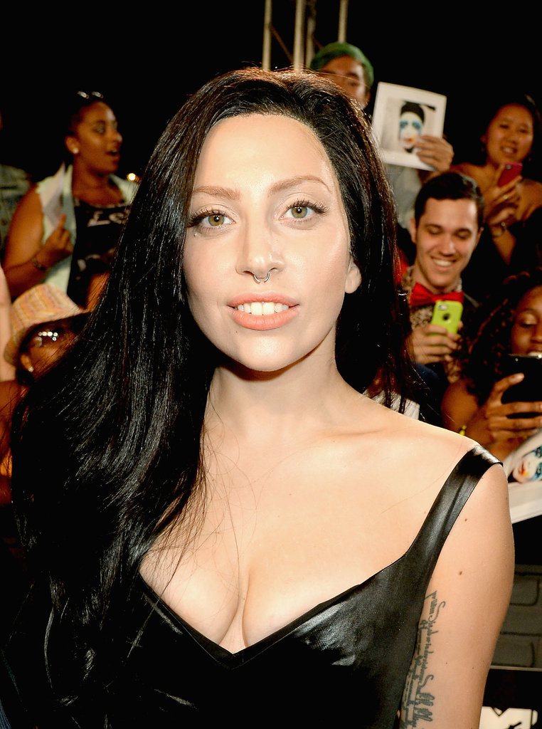 Lady Gaga at the VMAs in Brooklyn.