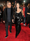 Lady Gaga walked the red carpet with her dad, Joe Germanotta.