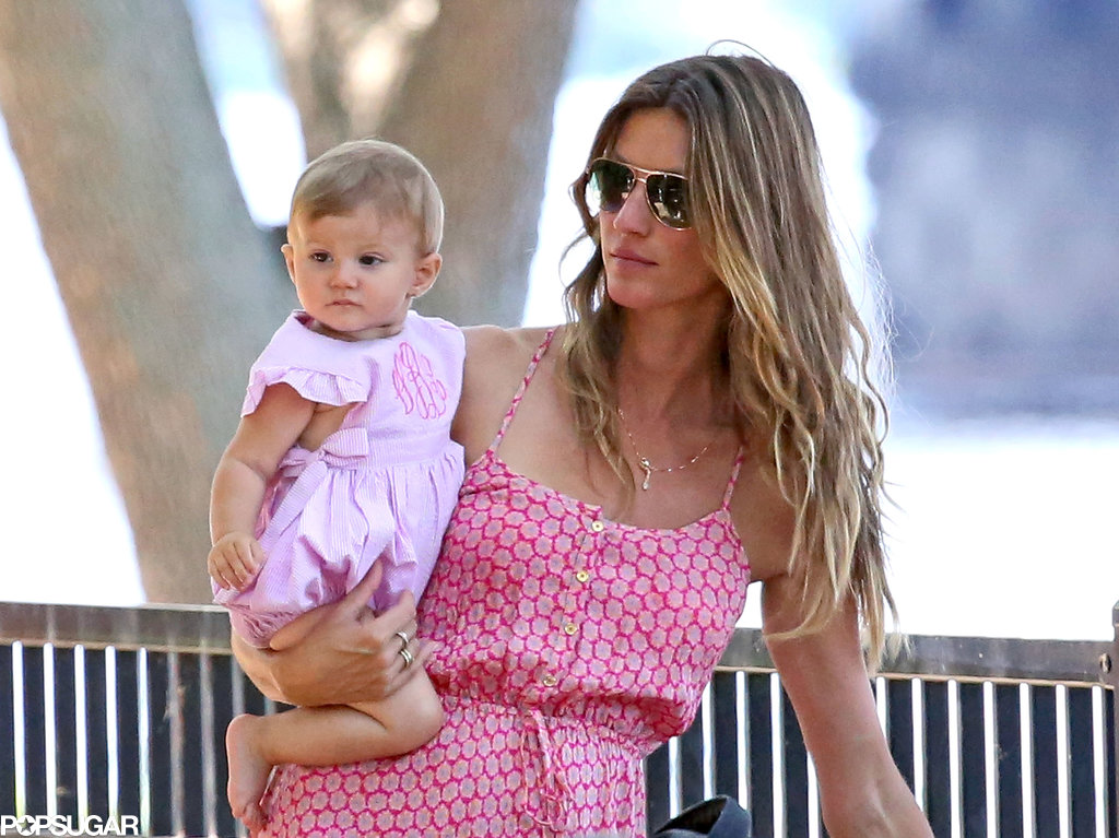 Gisele Bündchen shared a sweet park date with her daughter, Vivian, and son, Benjamin, in Boston.