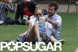 Bradley Cooper and Suki Waterhouse enjoyed a park date in Paris.